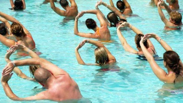 water-aerobics